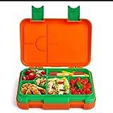 Anpro Bentobox Lunchbox, Brotbox Kinder Spülmaschinegeeignet, Brotdose Kinder mit Fächern für kindergarten , Schule , Arbeit , Picknick und Reisen