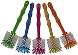 Reinigungsbürste in 5 Farben, ideal für den Thermomix TM31 / TM5 / T21 / Mixer / Töpfe, etc.5-teiliges Set von HG Verlag
