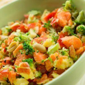 Karotten-Brokkoli-Salat aus dem Thermomix