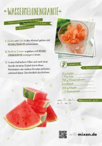 Wassermelonengranité aus dem Thermomix Rezept