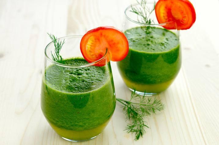 Grüner Smoothie Tiffin aus dem Thermomix®