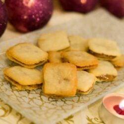 Knusperplätzchen mit viel Karamell und einer leckeren Lakritznote