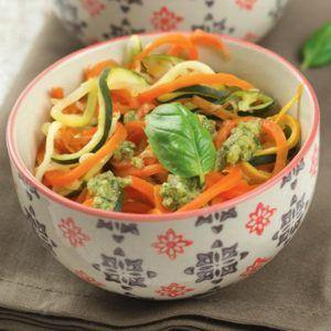 Gemüsesphagetti aus dem Thermomix