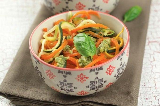 Gemüsespaghetti aus dem Thermomix