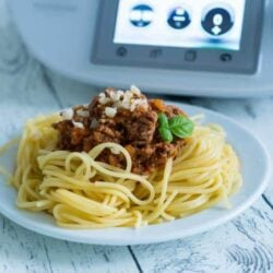 Spaghetti Bolognese aus dem Thermomix