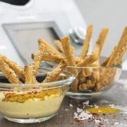 Sesam-Chili-Brotsticks aus dem Thermomix