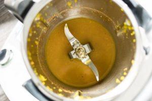 Ofen-Hähnchen die Sauce im Thermomix