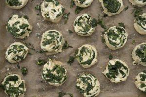 Spinat-Käse-Schnecken aus dem Thermomix