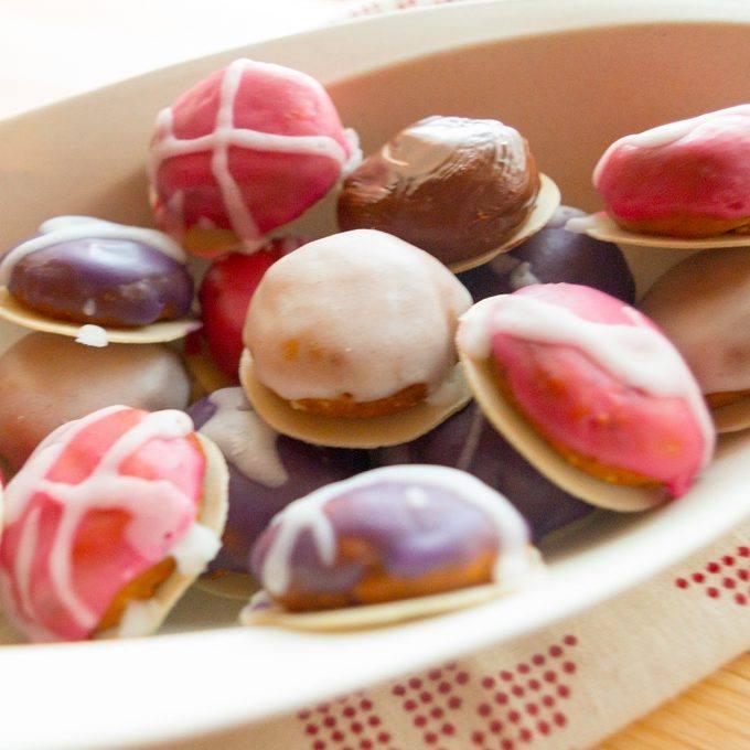 Bunte Mini Lebkuchen aus dem Thermomix Adventskalender