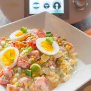Bunter Salat aus dem Thermomix® frisch