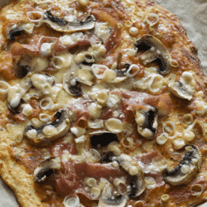 Low Carb Blumenkohlpizza aus dem Thermomix