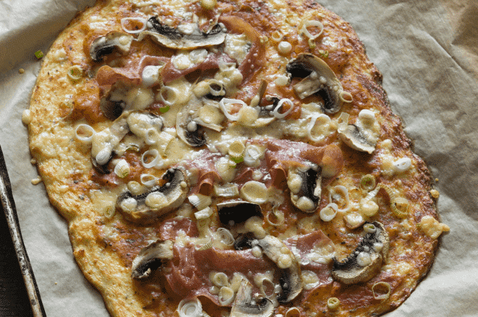 Low Carb Blumenkohlpizza aus dem Thermomix®