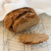 Leinsamen-Quark-Brot aus dem Thermomix