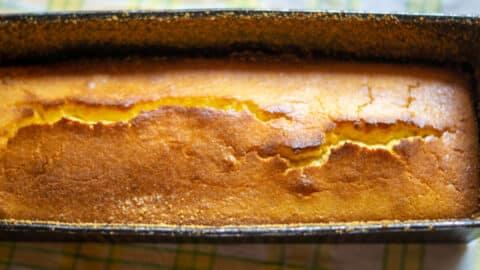 Kuchen in Kastenform