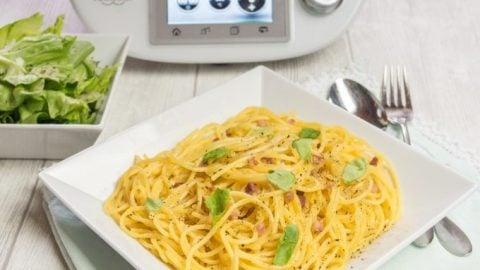 Spaghetti Carbonara aus dem Thermomix