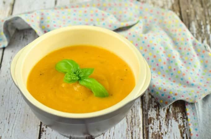 Gemüsesuppe aus dem Thermomix