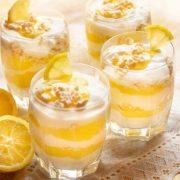 Zitronen-Schicht-Dessert aus dem Thermomix®