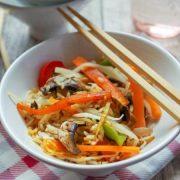 Vegetarischer Asia-Gemüse-Reis aus dem Thermomix®