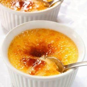 Eierlikör Crème brûlée aus dem Thermomix®