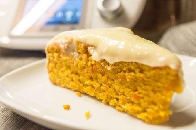 Orangen-Karottenkuchen aus dem Thermomix® mit Icing