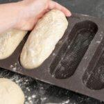 Knuspriges Knoblauch-Käse-Baguette aus dem Thermomix®