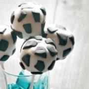 Fußball Cakepops aus dem Thermomix