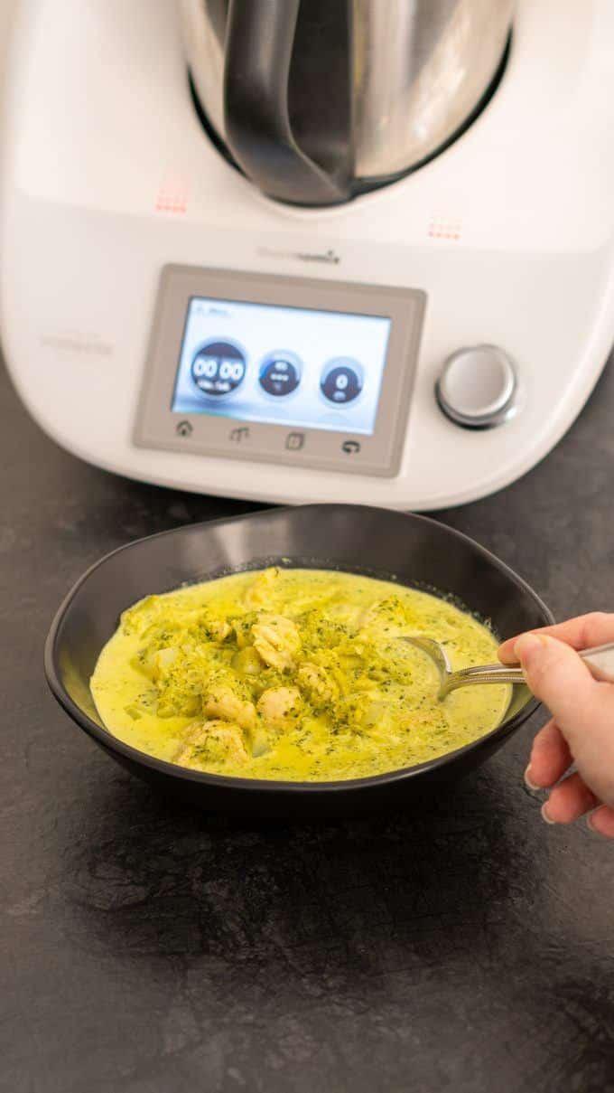 Gemüsecurry mit Putenwürfeln aus dem Thermomix von will-mixen.de