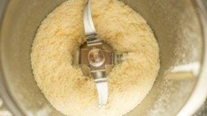 Zerkleinerter Parmesan aus dem Thermomix®