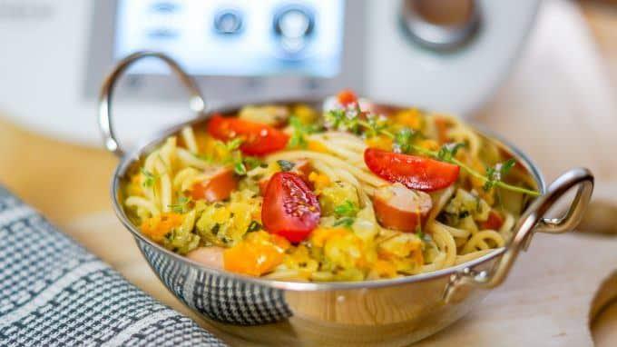 Schnelle Sommer-Spaghetti aus dem Thermomix®