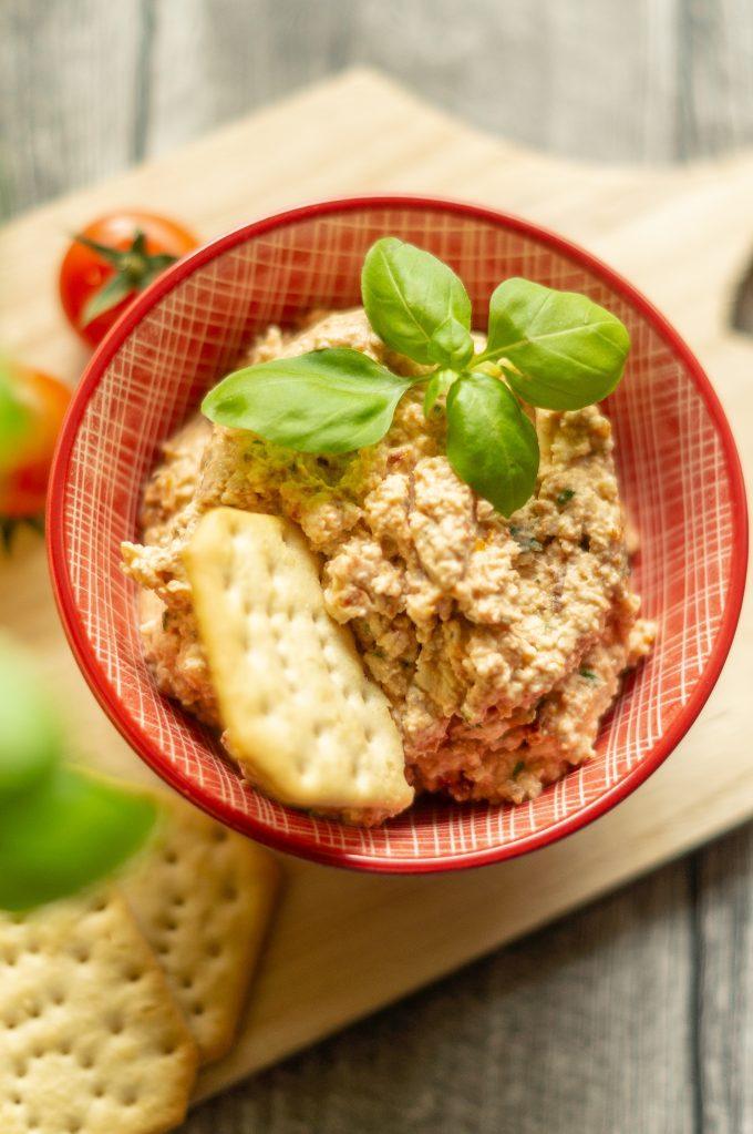 Tomaten-Mozzarella Dip aus dem Thermomix®