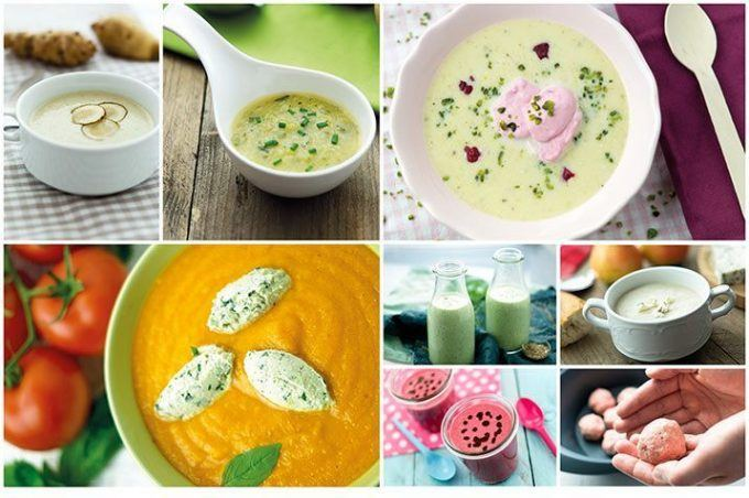 Mixessen Suppenrezeptheft für den Thermomix® Collage