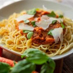 Karotten-Tomaten Spaghetti aus dem Thermomix®
