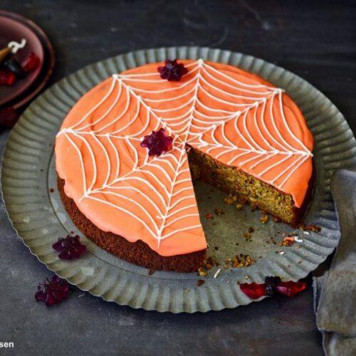 Halloween-Spinnenkuchen aus dem Thermomix® - will-mixen mit dem Thermomix durch das Jahr 2019