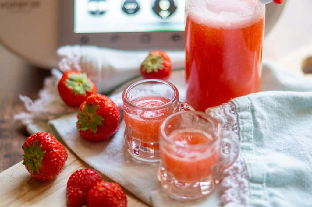 Erdbeerlimes aus dem Thermomix®