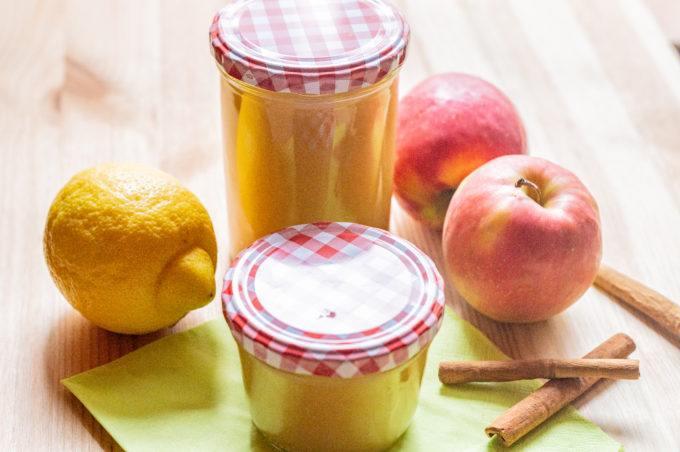 Apfelmus aus dem Thermomix® haltbar machen