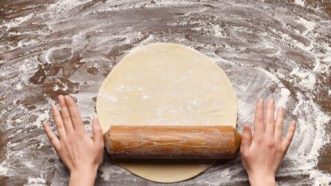 Thermomix® Pizzateig richtig ausrollen