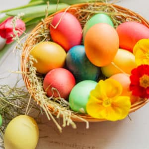 Eier färben und kochen gleichzeitig mit dem Thermomix®