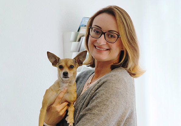 Hanna Czenczak von Tierschutz-Shop ist Initiatorin des Spenden-Marathons für Tiere.