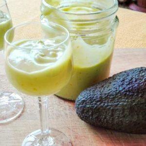 Avocado-Eierlikör - Abacate aus dem Thermomix®