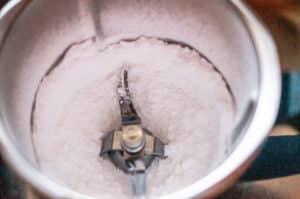 Puderzucker im Mixtopf des Thermomix®