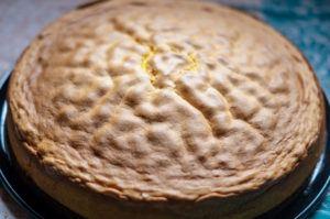 Biskuit gebacken