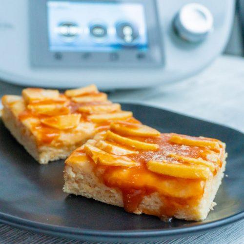 Apfel-Karamell-Blechkuchen aus dem Thermomix®