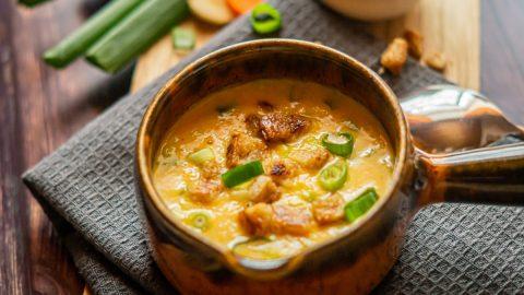Pastinaken-Karotten Suppe aus dem Thermomix®