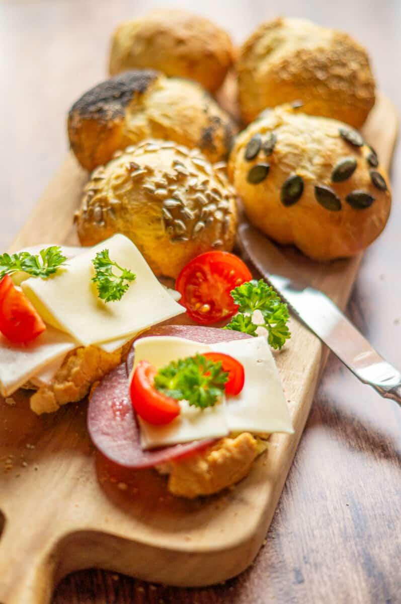 Joghurtbrötchen aus dem Thermomix® perfekt für die Brotzeit