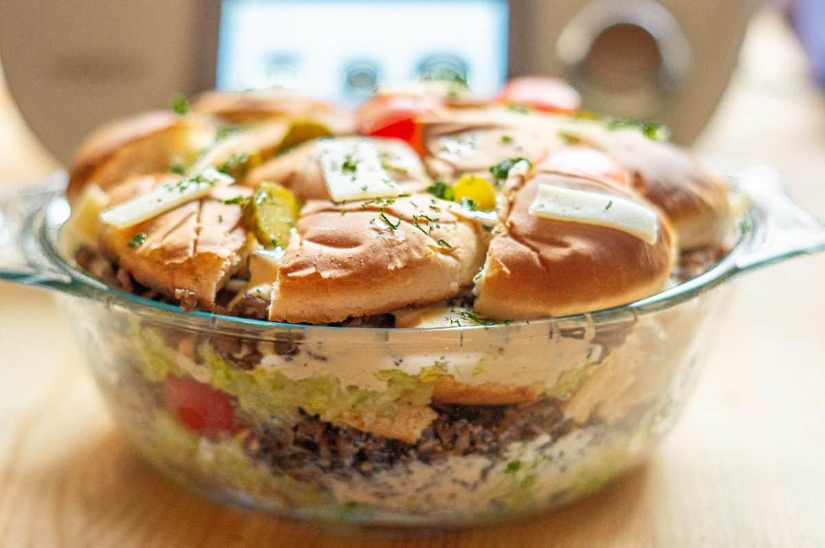 Bic Mac Salat aus dem Thermomix®