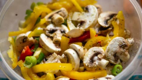 Gemüse, geputzt und geschnitten