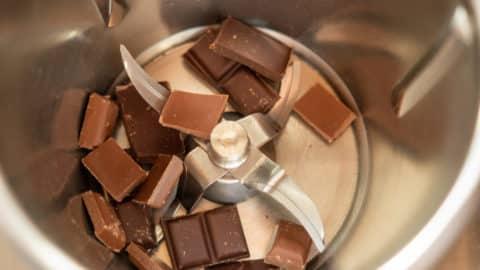 Schokolade zerkleinern im Thermomix