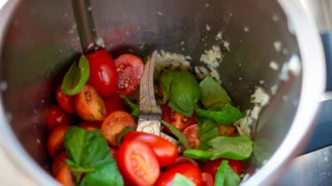 Tomaten und Basilikum im Thermomix®