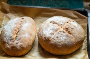 Hausbrot (Mischbrot) aus dem Thermomix®ganze Brote