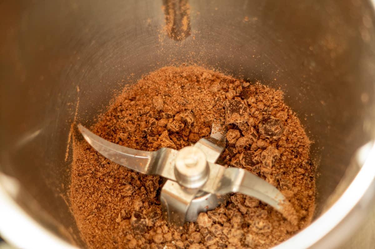 Schokolade zerkleinern im Thermomix®